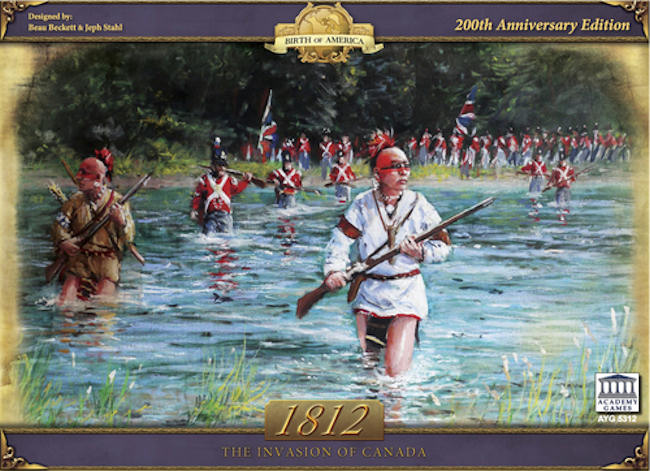 Amazon.com: Academy Games 1812: The Invasion of Canada ...