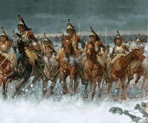 Flight of the Eagle Napoleon cavalry