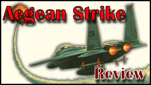 Aegean Strike Board Game - Title Graphic
