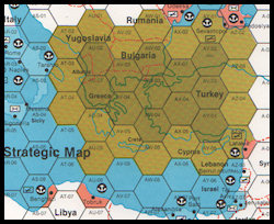 Aegean Strike Stragegic Map