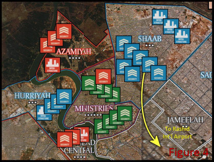 Battle for Baghdad - Shiite moves