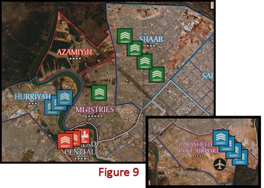 Battle for Baghdad - Aftermath of fighting