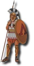 Battle Line Greek Soldier