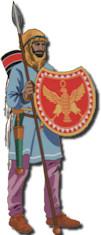 Battle Line Persian Soldier