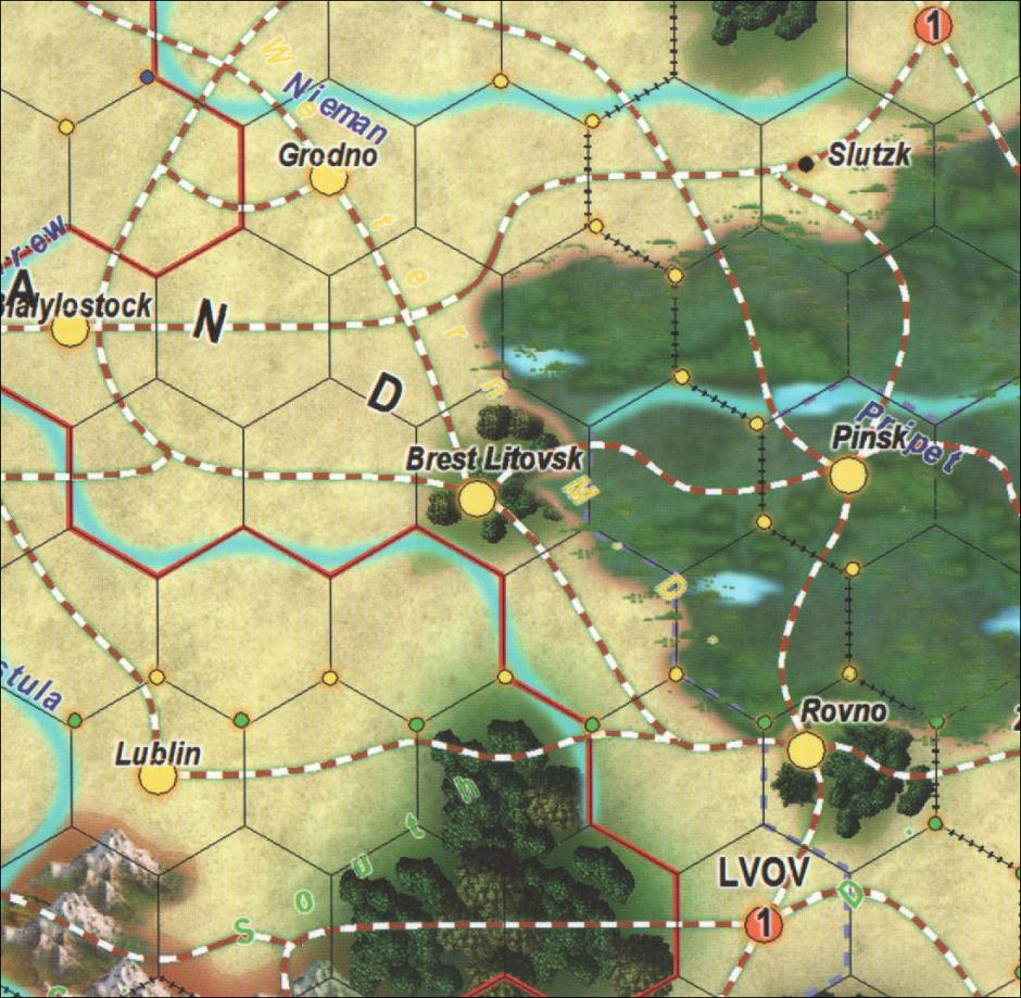 Blocks in the East - Confusing Map Lines and Text
