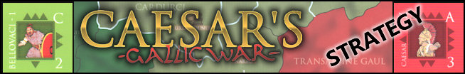 Caesar's Gallic War - Strategy - Title Graphic