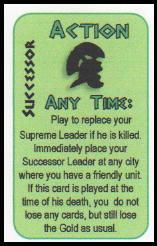 Caesar XL - Pompey's starting card hand