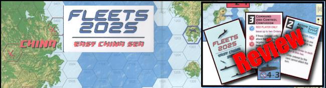 Fleets 2025: East China Sea Board Game