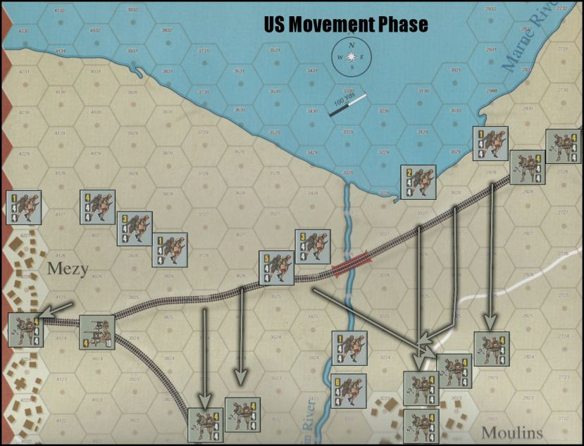 First Blood Second Marne Board Game