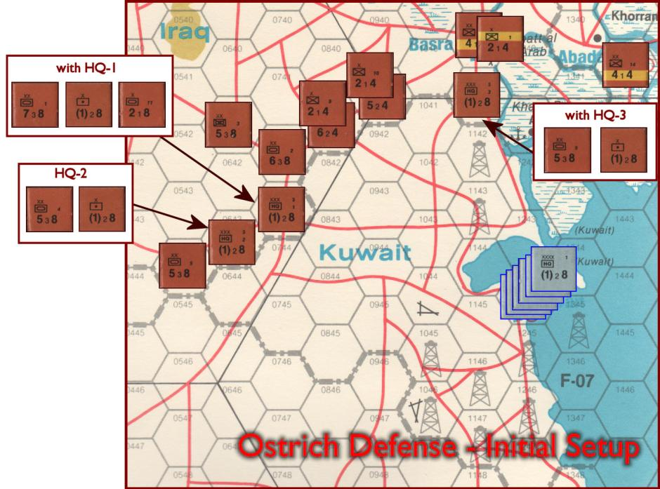 Gulf Strike Board Game