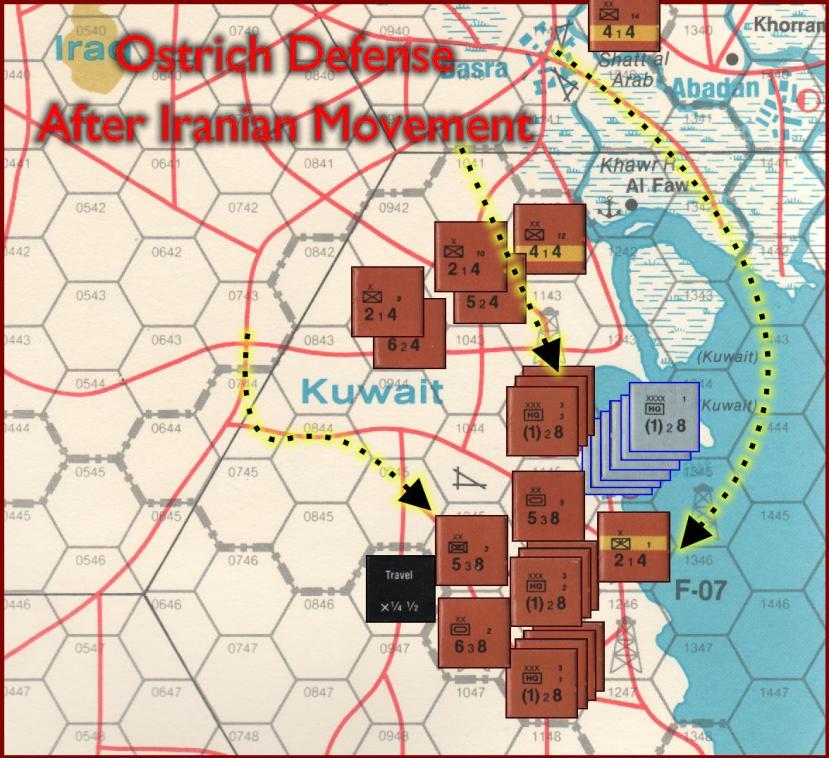 Gulf Strike Board Game