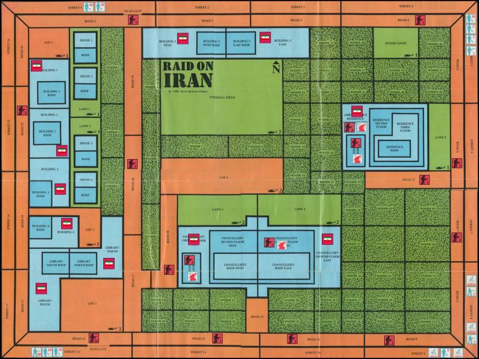 Raid on Iran Board Game review