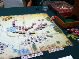 Bosworth Field 2 - starting game set-up