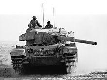 Bar Lev 7 - Israeli Centurian tank in the Sinai