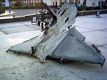 Bar lev 7 - Wreackage of Israeli A-4 Skyhawk