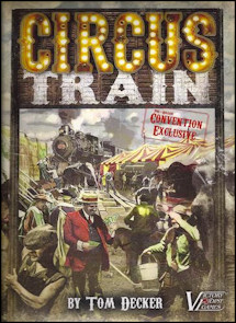 Circus Train Board game review