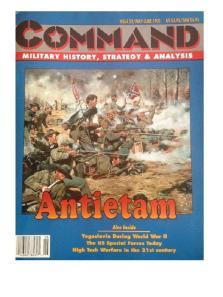 Antietam Board Game Cover Art
