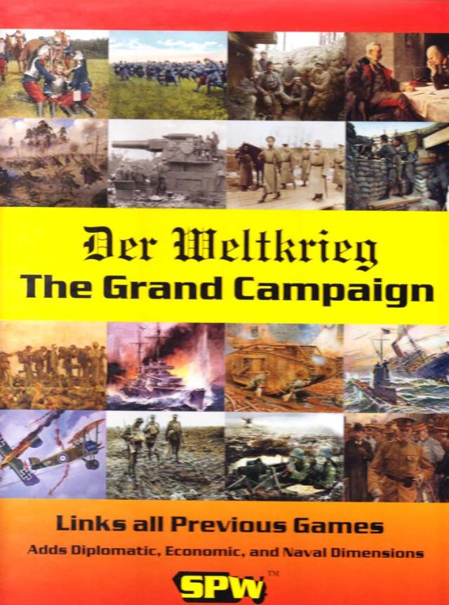 The Process of Elimination : Defining the Der Weltkrieg Series - A Boardgaming Life Review