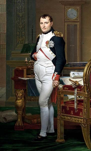 Napoleon standing
