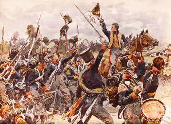 640px-De_prins_van_Oranje_aan_het_hoofd_van_het_vijfde_bataljon_Nationale_Militie_bij_Quatre_Bras%252C_16_juni_1815