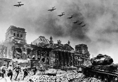 Yevgeny_Khaldei_-_Reichstag_After_Fall_of_Berlin_-_1945