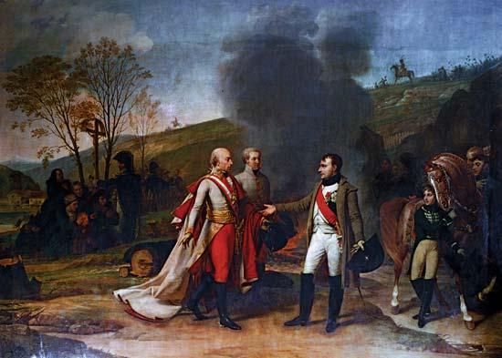 Oil Painting Illusion History War Battle