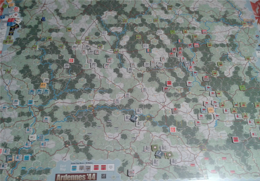 German advance