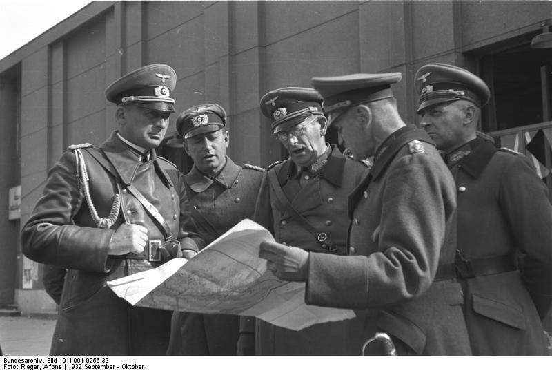 Warschau, Generale v. Weichs, Blaskowitz
