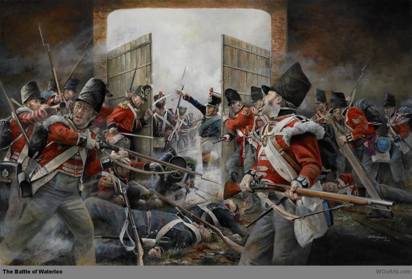 The Battle of Waterloo www.WOoArts.com
