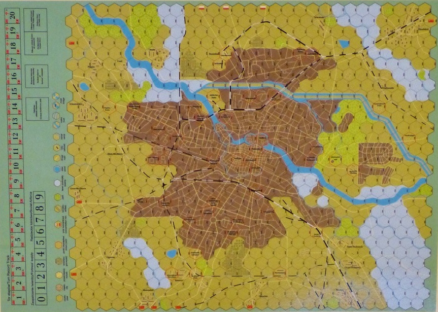 Festung Breslau A Boardgaminglife Review Of Strategemata S Game Of