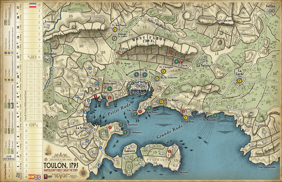 Toulon 1793 A BoardgamingLife Review – The Boardgaming Life