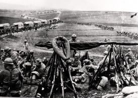 The Sacred Way, Verdun, 1916, France, World War I, , . (Photo by: Photo12/UIG via Getty Images)